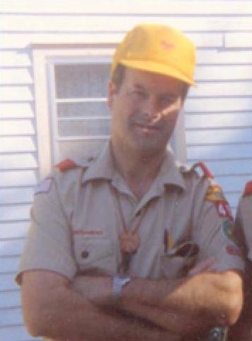 Rader as Boy Scout leader