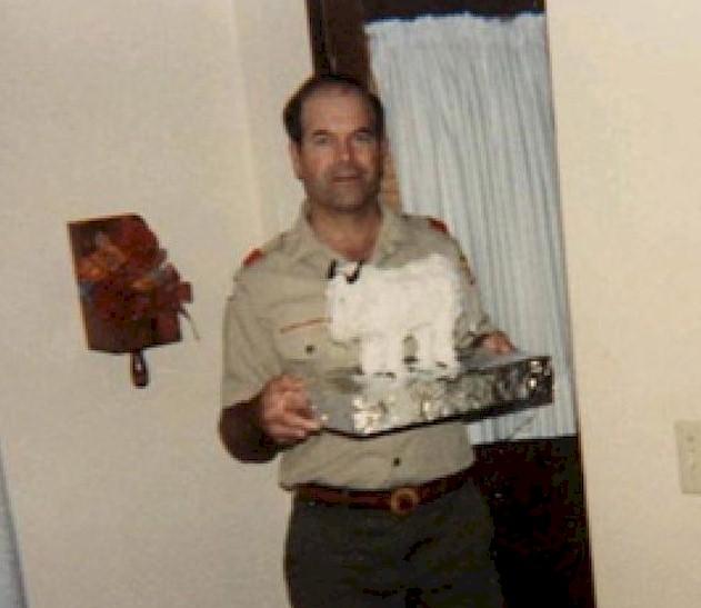 Rader in Scout uniform